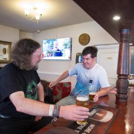 Happy Customers at the Sussex Arms East Grinstead